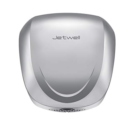- JETWELL High Speed Commercial Automatic Hand Dryer - Heavy Duty Stainless Steel - Warm Wind Hand Blower