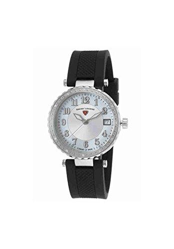 Swiss Legend Women's 16002SM-02 Sea Breeze Analog Display Swiss Quartz Black Watch
