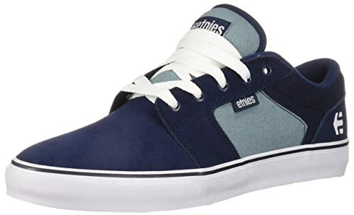 - Etnies Men's Barge LS Skate Shoe, Navy/Blue/White, 12 Medium US