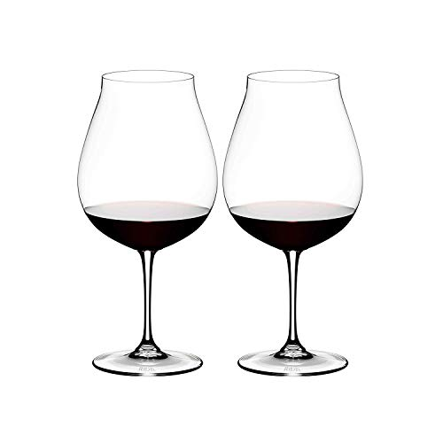 (Riedel 6416/16 Vinum Pinot Noir Glass, Set of 2, Clear)