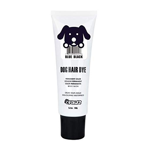 Owpawz DOG HAIR DYE GEL (BLUE BLACK) -
