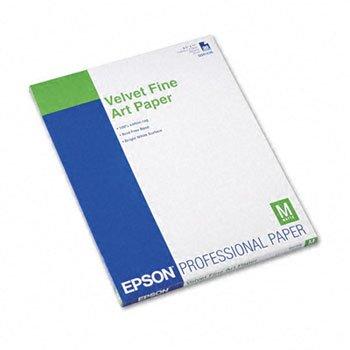 Velvet Fine Art Paper Sheets - EPSS041636 - Epson Velvet Fine Art Paper