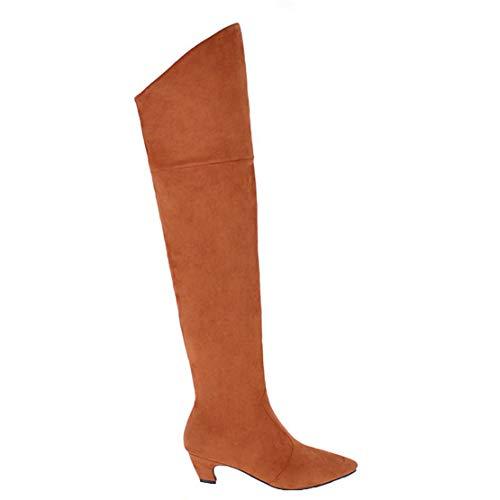 Aiyoumei Gelb Stivali Stivali Donna Classici Aiyoumei 8rwgwYqxH4