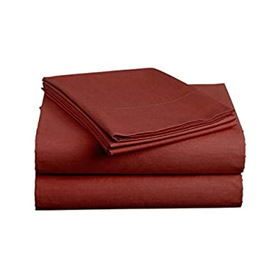 Luxe Bedding® Bed Sheet Set - Brushed Microfiber 2000 Bedding - Wrinkle, Fade, Stain Resistant - Hypoallergenic - 4 Piece - Unique Christmas Presents for family
