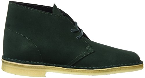 Verde Suede Boot dark Polacchine Desert Clarks Grün Uomo Originals wpXCqO4O