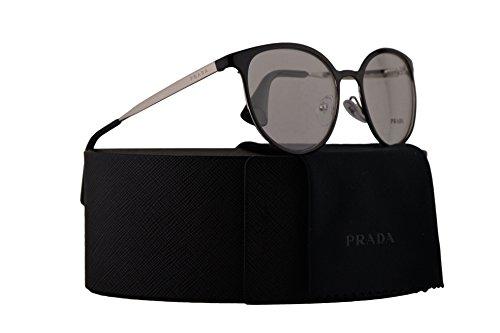Black 101 Eyeglasses Frame - Prada PR53TV Eyeglasses 52-19-135 Shiny Black w/Demo Clear Lens 1AB1O1 VPR53T VPR 53T PR 53TV