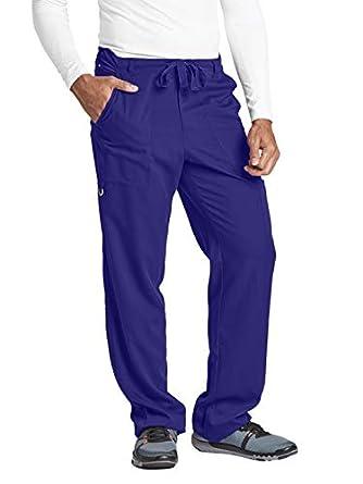 c55a0dd30c0 Grey's Anatomy Men's 5-Pocket Cargo Scrub Pant XXXX-Large Purple Rain:  Amazon.in: Amazon.in