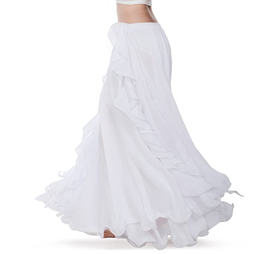 Pratica Chiffon Costume Di Abito Danza Bianca Qualità Royal Ventre Alta Abbigliamento Femminile Performance Nuovo Gonna Smeela Del In Da tCBhrsdQx