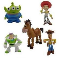 CDC 5 pièces de décoration pour gâteau de mariage figurines Toy ...