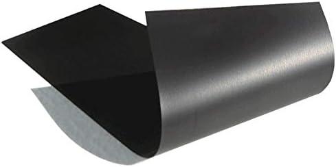 Thin /& Flexible Magnetic Material Sheet 4-inch x 12-inch Black for Magnetizing Bumper Sticker Lifeweaver 0030CS.MAG.4X12.020