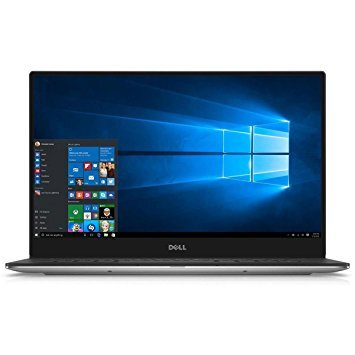 Dell XPS 13 9350 13.3' IPS 3200x1800 Quad HD+ Touchscreen Notebook Computer Intel Core i5-6200U 2.3GHz, 8GB RAM, 256GB SSD, 802.11ac dual band, Bluetooth, 720p Webcam, Windows 10 Home 64-bit
