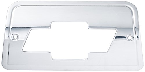 Bow Tie Tail Light Covers (All Sales 94006P Polished Billet Aluminum Third Brake Light Cover - Chevy Bowtie Logo)