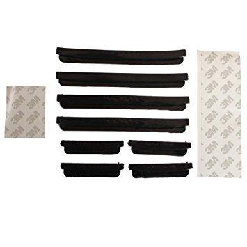 TOOGOO(R) 8pcs Car Door Edge Guards Trim Molding Protection Strip Scratch Protector Black by TOOGOO(R) (Image #4)