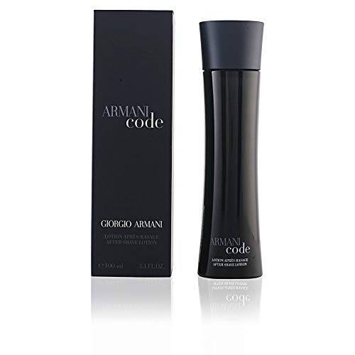(Giorgio Armani Code for Men Aftershave Lotion, 3.4)