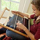 Weaving Looms Wooden Weaving Loom Kit - Woven DIY Suit Wooden Multifunctional Loom