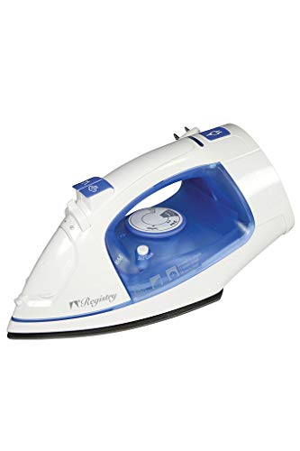 aBundle Registry Full-Size Variable Steam Iron with Retractable Cord 1500 watt Commercial Hotel Grade