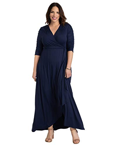 Kiyonna Women's Plus Size Meadow Dream Maxi Dress