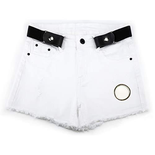(Buckle Free Belt for Women and Men, No Hassle, No Bulge Comfortable Elastic Belt)