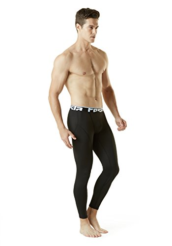 Large Product Image of Tesla Men's Thermal Wintergear Compression Baselayer 3/4 Capri / Pants Leggings Tights YUP21 / YUP33 / YUC32 / P33 / P43