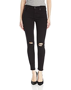 7 For All Mankind Women's Ankle Gwenevere with Destroy