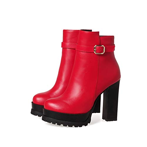 Rosso red 1to9 Zeppa Sandali Con Mns03252 Donna 35 Xwv4g8q
