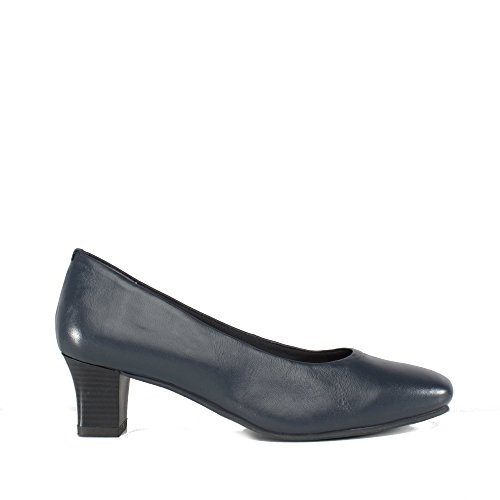 Comfort Leather Karla Court Ladies Navy Plus Shoes Navy trxwZr
