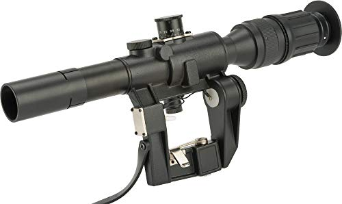 (Evike Matrix Illuminated 4x24 PSO-1 Type Scope for Dragonov SVD Sniper Rifle Series)