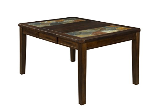 Sunny Designs Santa Fe Extension Table with Slate Top