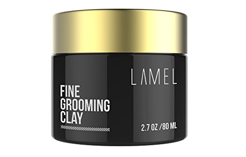 - Best Molding Creme for Strong Hold Matte Finish - No Shine Hair Product For Textured Modern Hairstyles - Lamel Styling Clay for All Hair Types 2.7 Ounce