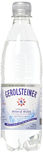 Gerolsteiner Sparkling Mineral Water, 16.9 Ounce, 6 Count
