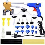 ARISD 32Pcs Auto Body Paintless Dent Removal Tools Kit Glue Gun Dent Lifter Bridge Puller Set For Car Hail Damage And Door Dings Repair