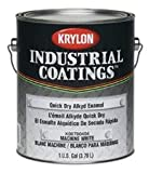 Krylon Industrial Coatings 78 Machine White High Gloss Alkyd Enamel Paint - 1 gal Pail - K00780404-16 [PRICE is per GALLON]