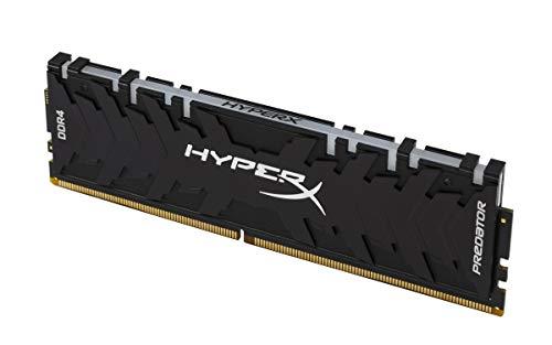 (HyperX Predator DDR4 RGB 32GB Kit 3200MHz CL16 DIMM XMP RAM Memory/Infrared Sync Technology- Black (HX432C16PB3AK2/32))