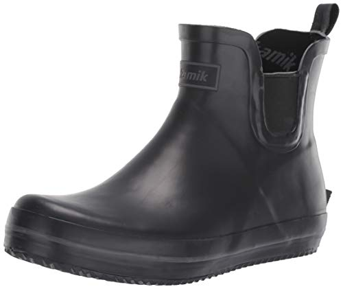 Kamik Women's SHARONLO Rain Boot, BK2, 8 M US