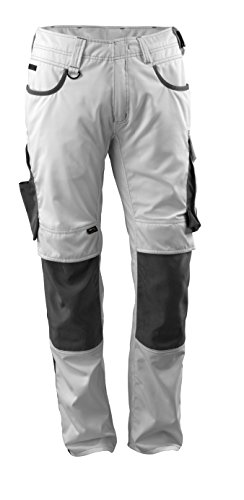 Mascot 13079–230–0618–90°C58Lemberg pantalones, L90cm/C58, blanco/oscuro antracita