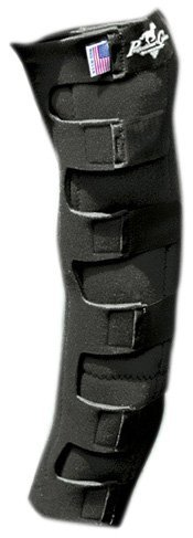 Professionals Choice Equine Nine Pocket Ice Boot (Universal Size, Black) by Professional's Choice