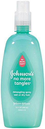 Johnson's Baby No More Tangles Detangling Spray, 10 Ounce (Kids Detangling Spray)