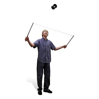 Jolly Lama! Blue & Black Diabolo Chinese Yo-yo: Toys & Games