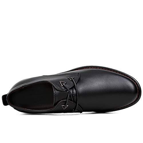 Tie Negro Ronda Simple Formales Classic Casual De Hombres Negocios Zapatos Oxford wxIqY0WHv