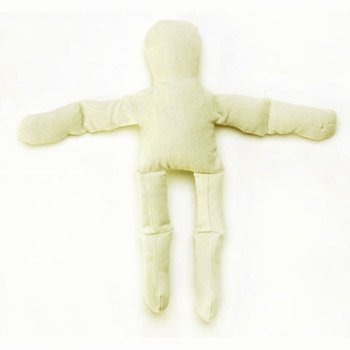 Bulk Buy: Darice DIY Crafts Muslin Doll Natural Color 8 inches (6-Pack) 1232-33