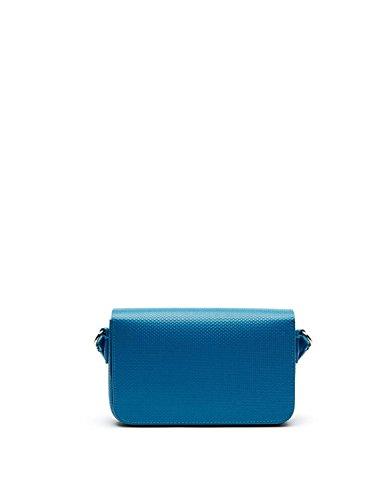 Lacoste NF1861CE, Bolso Bandolera para Mujer, 13 x 5 x 20 cm Blue