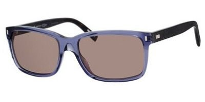[DIOR HOMME Sunglasses 155/S 06A1 Transparent Blue 56MM] (Christian Dior Homme Sunglasses)