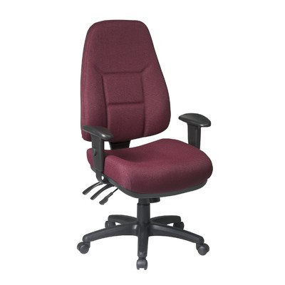 Office Star 2907-297 High Back Multi Function Ergonomic Offi
