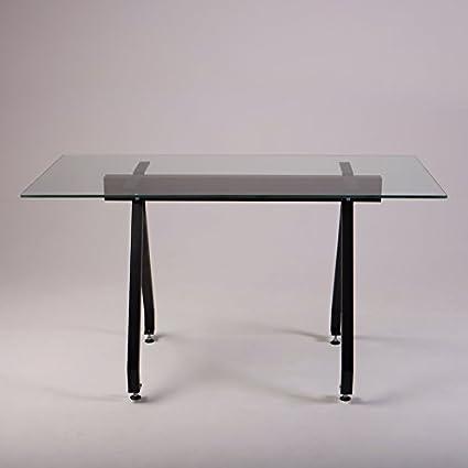 Top Per Tavoli Da Cucina.Cosywood Top In Vetro Industriale Tavolo Da Pranzo Amazon
