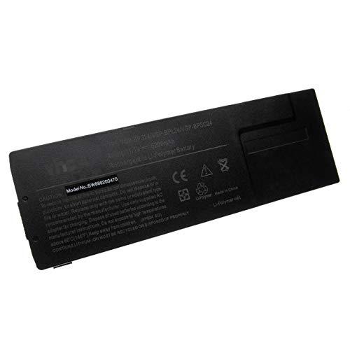 vhbw battery suitable for Sony Vaio SVS13133CAB, SVS13133CAW, SVS13133CF, SVS13133CFB, SVS13133CG laptop (5200mAh, 11.1V, Li-Polymer, black)