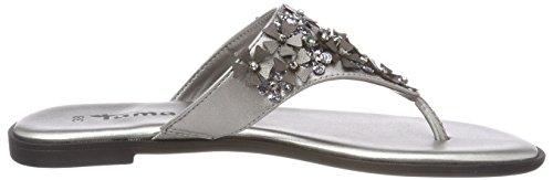 915 Women's Silver pewter 27133 Tamaris Mules RZFCx1