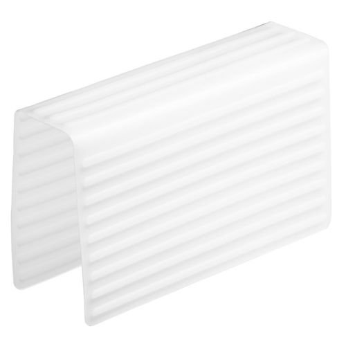 Kitchen Sink Saddle Double Sink Protector Cover - Red, White, or Grey (White)