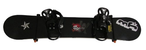 KR Ideas Black Horizontal Snowboard Wall Mount (Made in The USA)