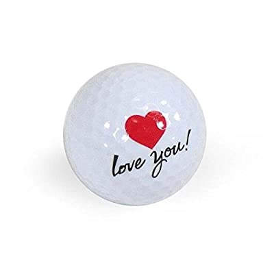 Golf Balls, Nitro Novelty I Love You, 3 Pack