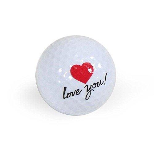 Golf Balls, Nitro Novelty I Love You, 3 ()